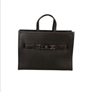Proenza Schouler ps 11 black leather tote